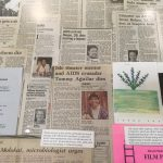 These are just a few of the obituaries for local people with AIDS in Dr. McEwan's collection.