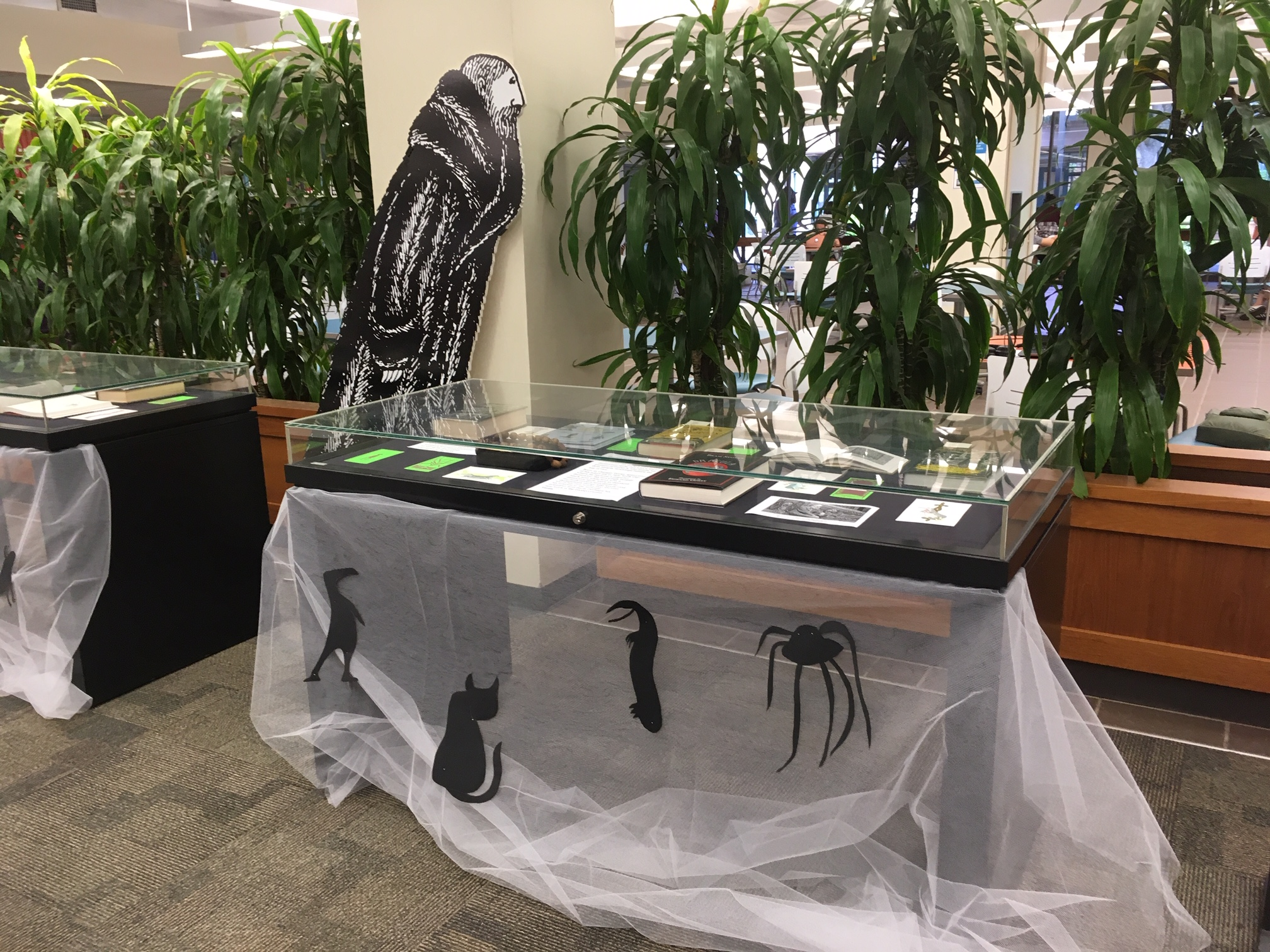 Gorey Halloween Exhibit
