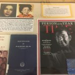 Inspiring Women of Asia Exhibit - Books and placards on Women of the Philippines
