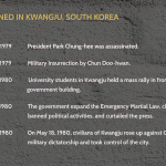 What happened in kwangju, south korea