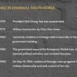 What happened in kwangju, south korea