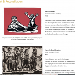 Art & Reconciliation