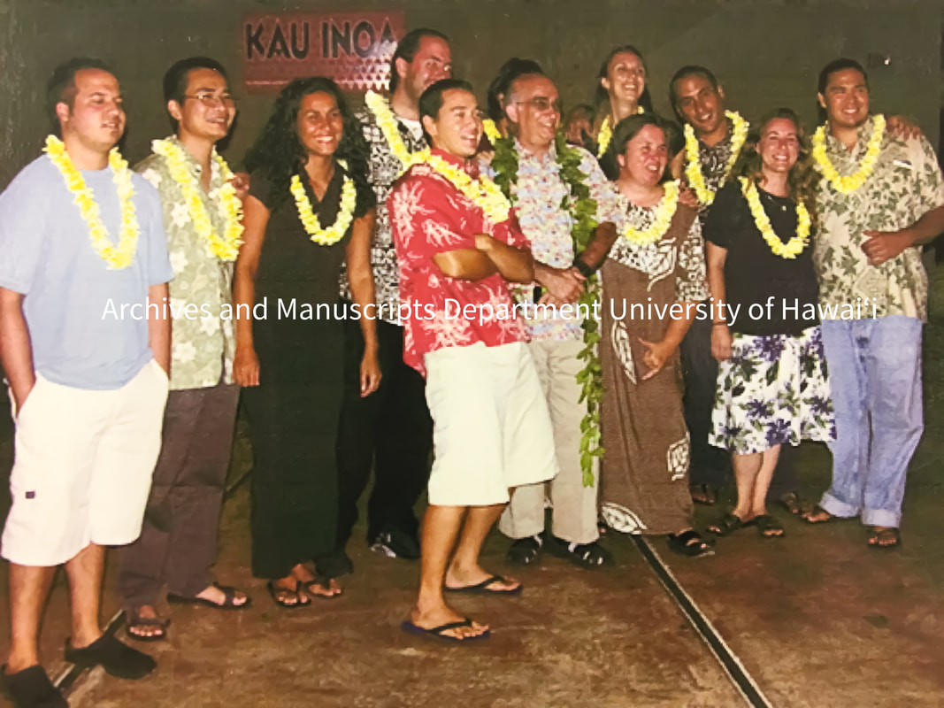 A group photo for the Papohaku project