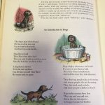Page from Ogden Nash, An introduction to dogs, from The golden treasury of Poetry, Juvenile PN6110.C4U56