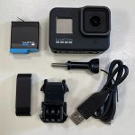 picture of parts of Go-Pro hero 8 camera