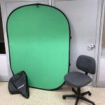 image of Neewer foldable green screen