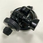 """image of Suction cup mount with 3/8"""" connector"""