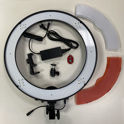 Image of Neewer large light ring with parts
