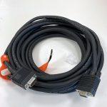 image of VGA-male to VGA-female cable, 8m (24')