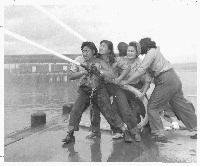 Women WWII Firefighters
