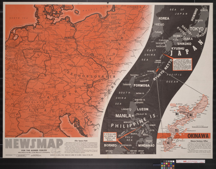 Battle of Okinawa intensifies