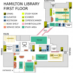 Hamilton Library First Floor