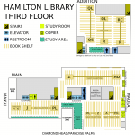Hamilton Library Third Floor