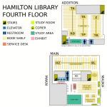 Hamilton Library Fourth Floor