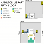 Hamilton Library Fifth Floor