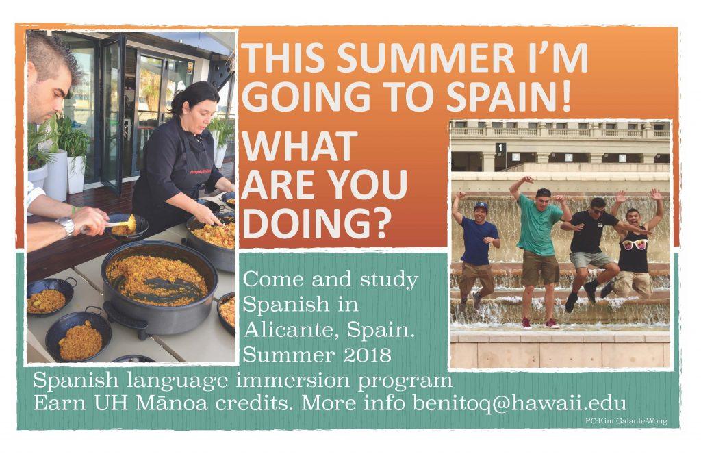Study Spanish in Alicante, Spain summer 2018
