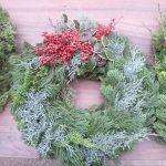 Holiday wreath by Hui Hana Lei