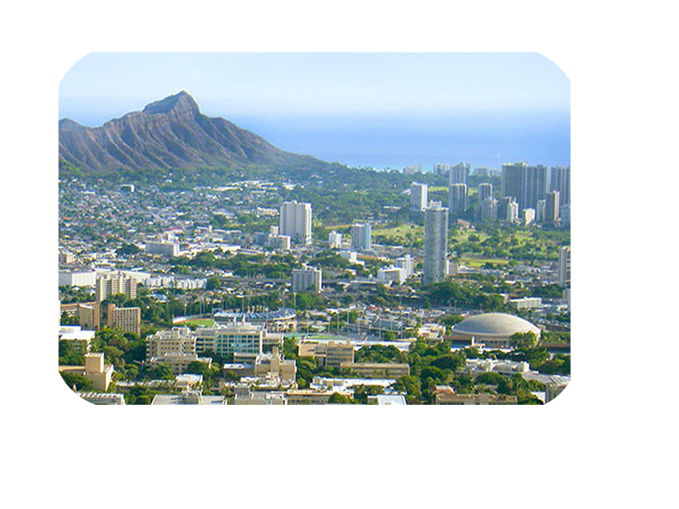 Mānoa Campus Map