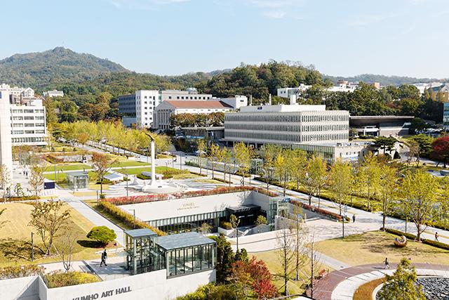 Yonsei Campus Map.Yonsei University International Summer School Manoa