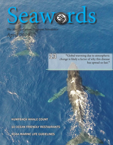 Seawords April 2019 Cover