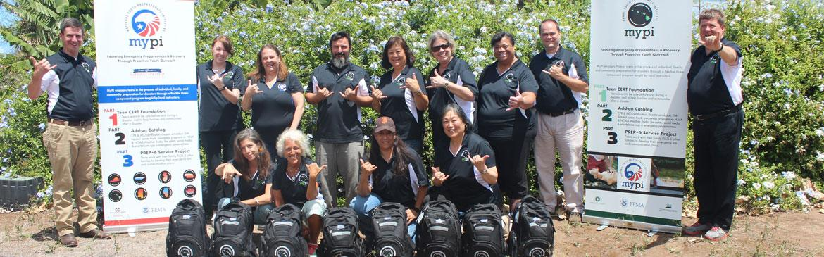 MyPI Hawaii Instructors and National Coordination Team