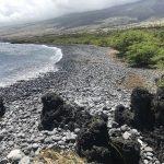 Nuʻu Maui shoreline and beach