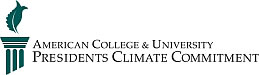 American College and University President's Climate Committment Logo