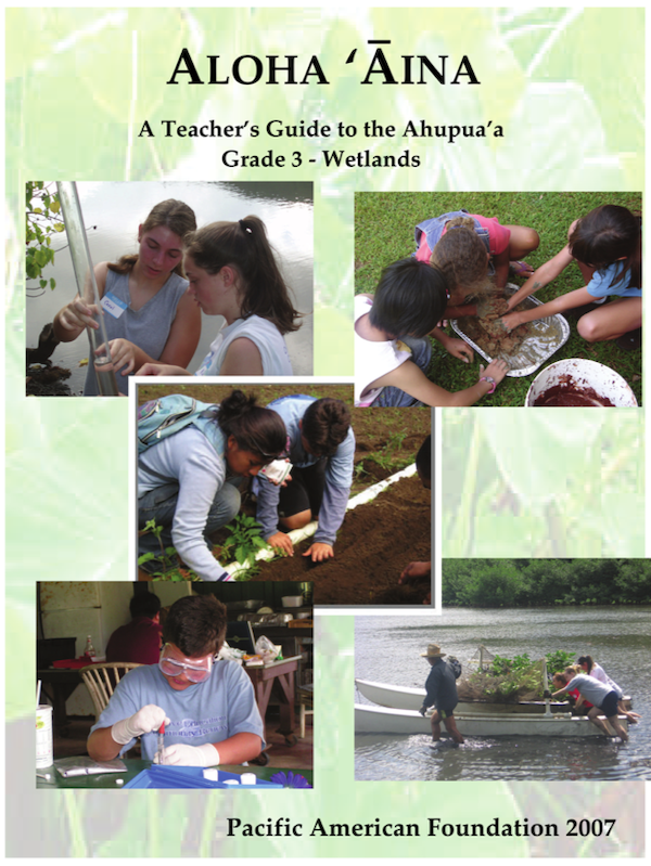 <p>Fig. 3. Students in grade 3 explore the wetland.</p>