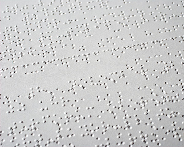 <p>Fig. 1. An example of english braille.</p>