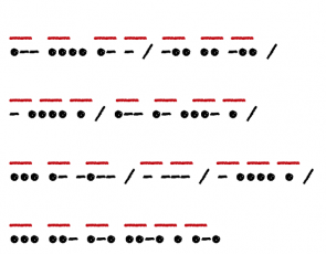 <p>Fig. 4. Can you decipher this riddle?</p>