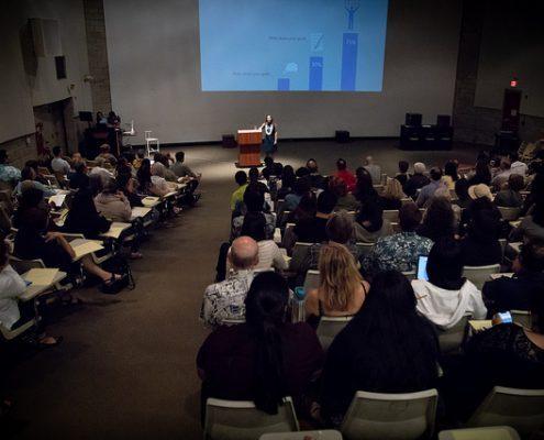 Lecture auditorium view