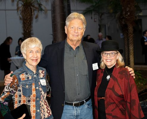 Marcus Rediker, Lynne Johnson and friend.