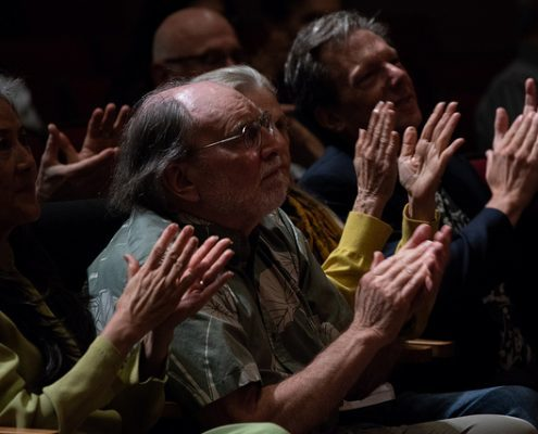 Neil Abercrombie in the audience