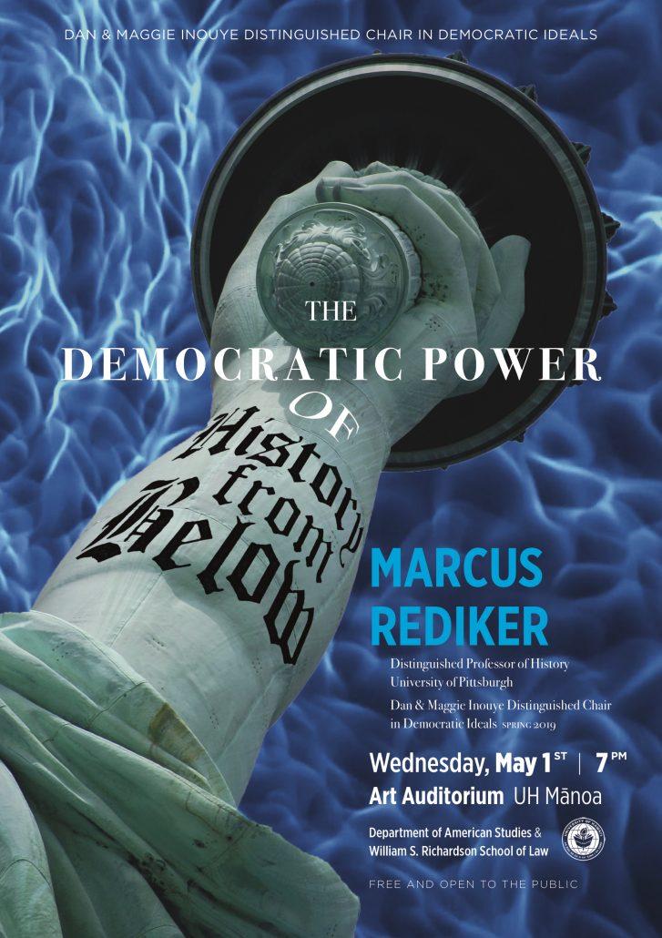 Marcus Rediker Keynote Poster