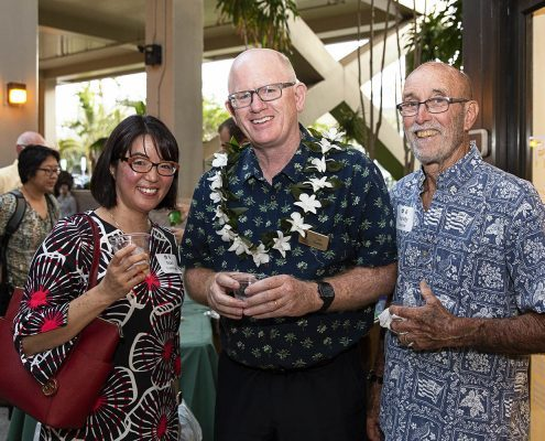 Tim Dolan, Randy Moore, Mari Yoshihara