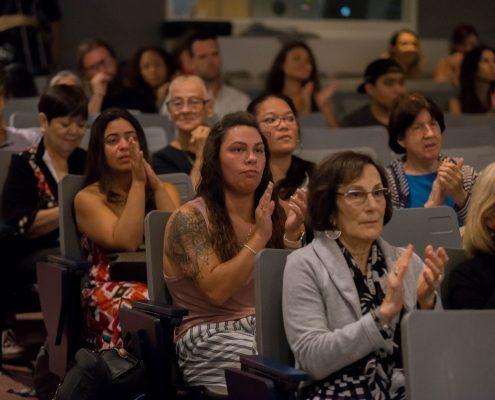 Hincapie public lecture audience