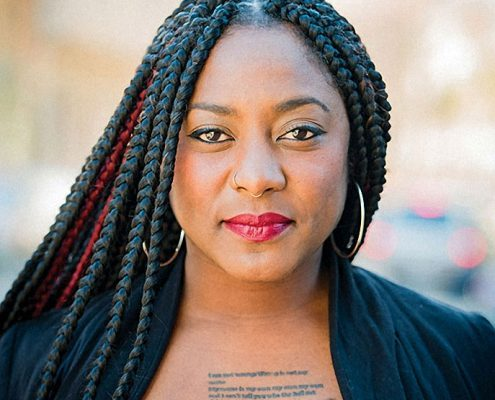 Alicia Garza portrait