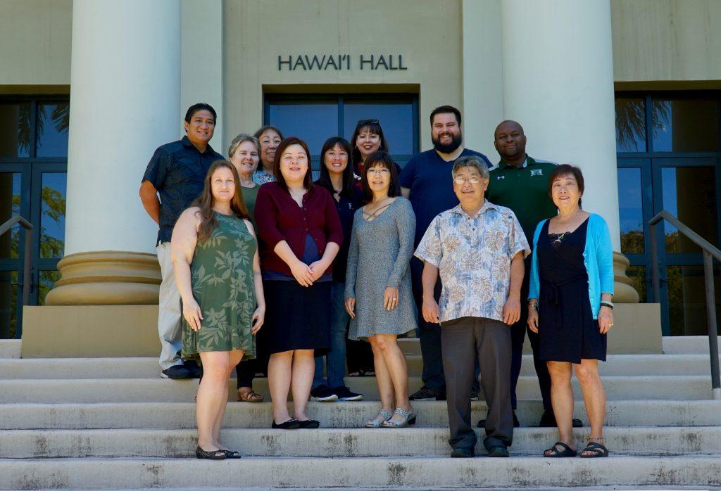 Photo of the 2020 Manoa Staff Senate team.
