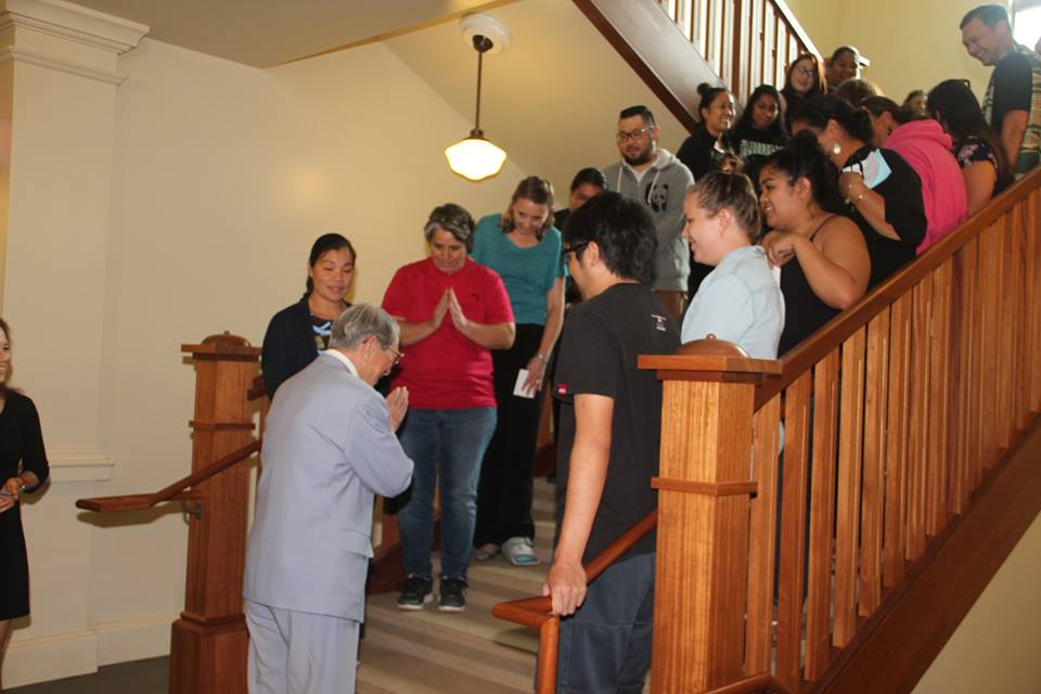 Bishop Isao Ito Visits The University Of Hawaiʻi At Mānoa Myron B. Thompson School Of Social Work