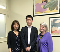 UH Center On Aging Recently Hosted Visiting Colleague, Kohei Kajiwara, PhD