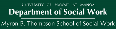 Myron B Thompson School of Social Work
