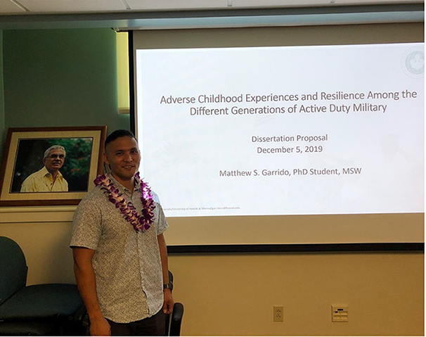 Doctoral Student Matthew Garrido Passes Comprehensive Exam