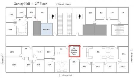 Gartley Hall - Pilialoha Lactation Room