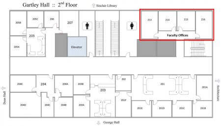 Gartley Hall - Faculty Offices Room