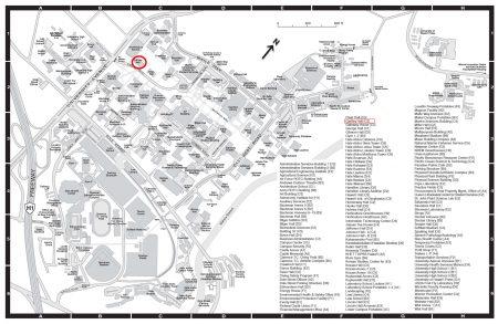University of Hawaiʻi at Mānoa General Campus Map