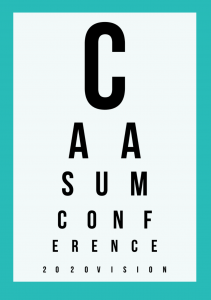 CAA Summer Conference 2020 Flyer Cutout