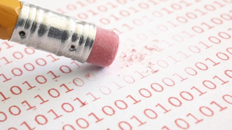 Pencil erasing test sheet