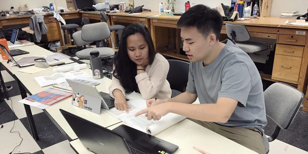 Dongyan Jiang and Creesha Layaoen