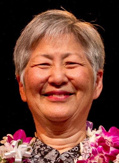 2016 award winner Susan Hasegawa