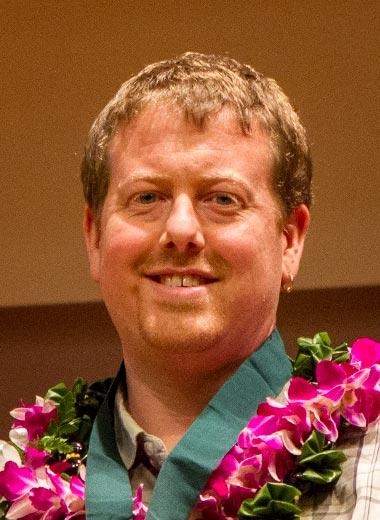 2017 award winner Christoph J. Baranec